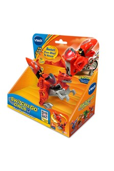 VTech Switch & Go Dinos Akuna The Velociraptor