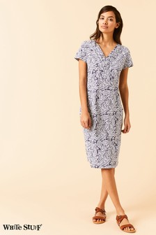 White Stuff Grey Morie Dress