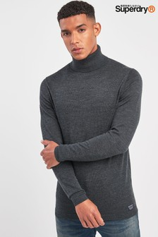 Superdry Merino Roll Neck Knit