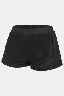 Moncler Enfant Girls Black Shorts