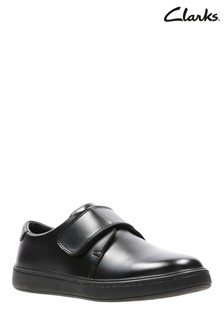 Clarks Black Street Shine K Shoe