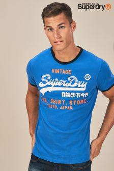 Superdry Shirt Shop Retro Ringer Tee