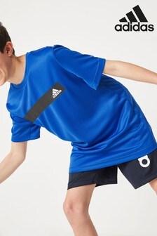 adidas Blue Training Cool T-Shirt
