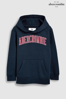 Abercrombie & Fitch Large Logo Overhead Hoody