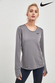 Nike Mesh Long Sleeve Top