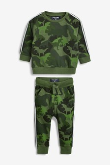Dino Crew And Joggers Set (3mths-7yrs)