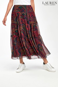 Lauren Ralph Lauren® Paisley Peasant Skirt