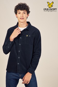 Lyle & Scott Black Cord Shirt