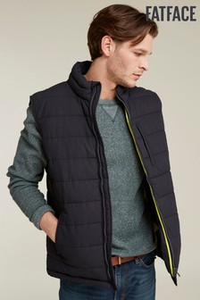 FatFace Blue Ripstop Padded Gilet