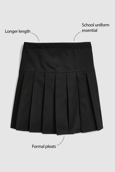 Longer Length Pleat Skirt (3-16yrs)