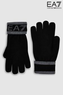 Emporio Armani EA7 Black Visibility Gloves