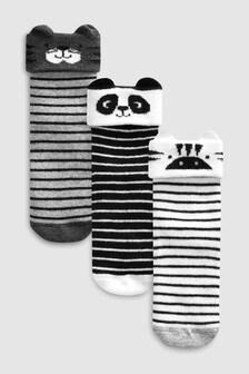 Набор из трех пар носков с героями мультфильмов (Младшего возраста)