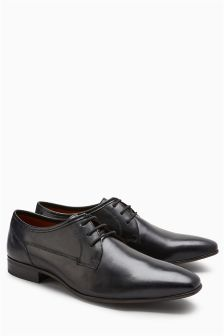 Chaussures Derby unies pointure large