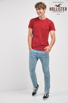 Hollister Light Wash Skinny Fit Jean