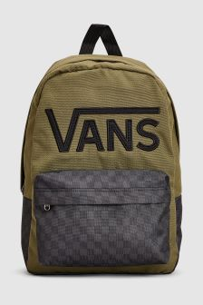 Vans Green New Skool Backpack