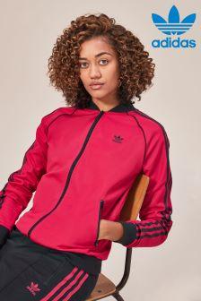 adidas Originals Red Leoflage Track Top
