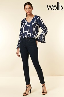 Wallis Blue Skinny Jegging