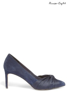 Phase Eight Blue Kendal Knot Front Pointed Court Shoe