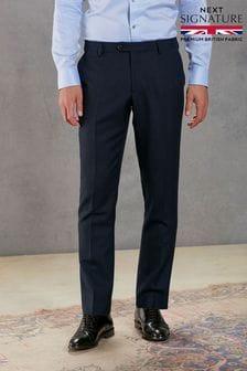 Empire Mills Signature Birdseye Suit: Trousers