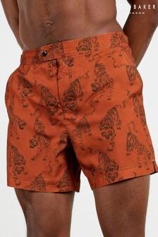 Ted Baker Prisee Cheetah Printed Swim Shorts