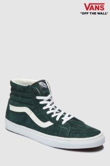 Vans Green Suede Sk8 Hi