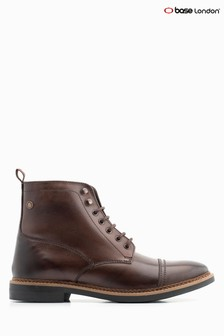 Base London® Cocoa Reynold Lace Up Boot