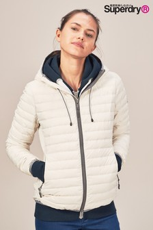 Superdry White Padded Jacket
