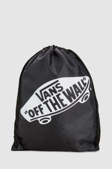 Vans Black/White Gym Sack