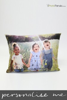 Personalised Large Rectangle Photo Cushion by Photo Panda