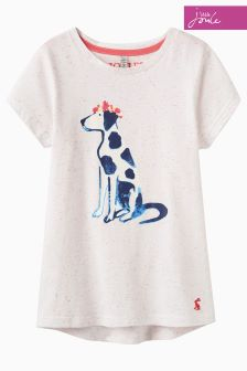 Joules Purple Stripe Pixie T-Shirt