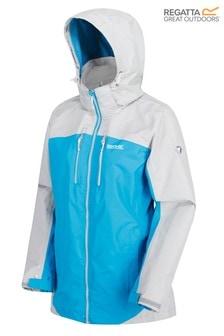 Regatta Blue Womens Calderdale II Waterproof Jacket