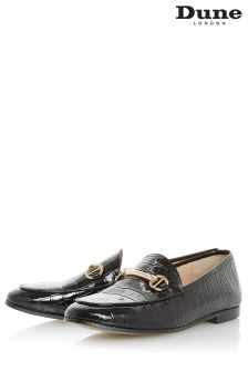 Dune Croc Guilt Metal Bar Loafer