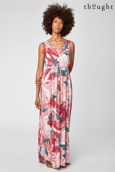 Thought Pink Blomst Maxi Dress