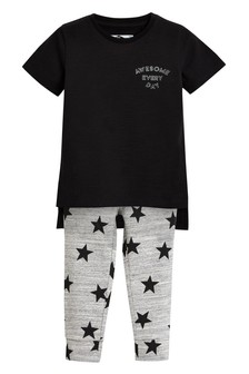 Star T-Shirt And Leggings Set (3mths-6yrs)
