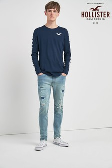 Hollister Mid Wash Skinny Fit Jean