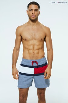 Tommy Hilfiger Stripe Flag Swim Short