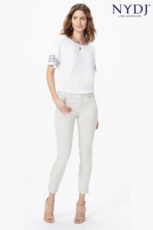 NYDJ Alina Knöchellange Jeans, beige