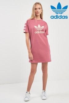 adidas Originals Pink Tee Dress