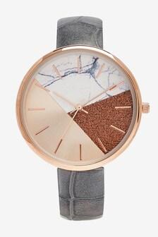 Split Dial Watch