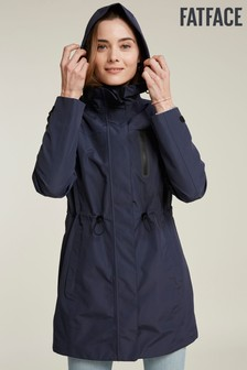 FatFace Blue Snowdon Long Jacket