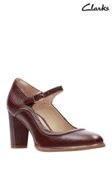 Chaussures babies Clarks Ellis Mae à talons hauts avec surpiqûres