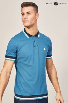 Pretty Green Blue Fairbrook Polo