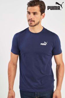 Puma® T-Shirt mit kleinem Logo