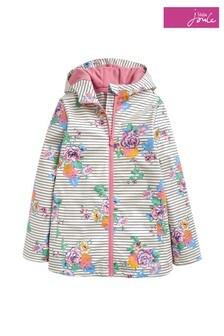 Joules Cream Raindance Showerproof Rubber Coat