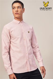 Lyle & Scott Pink Oxford Shirt