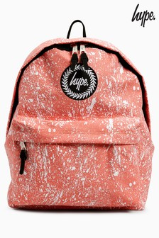 Hype. Pink Speckle Backpack