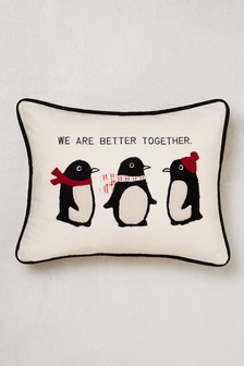 Penguins Cushion