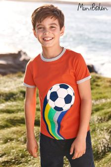 Boden Red Tipped Sports T-Shirt