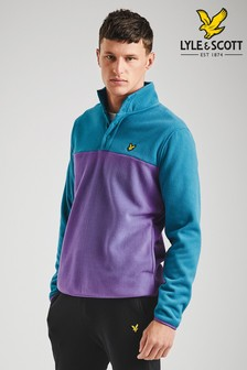 Lyle & Scott Colourblock Pullover Fleece