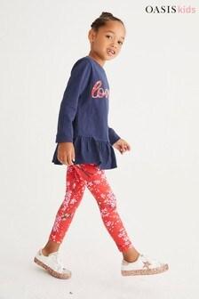 Oasis Printed Leggings